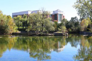 Pond view of HHH